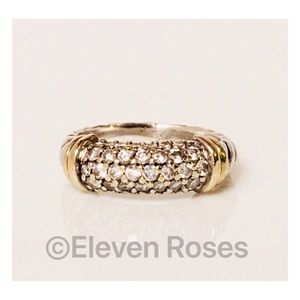 360fa9017 David Yurman Jewelry - David Yurman Sterling & 18k Diamond Metro Ring